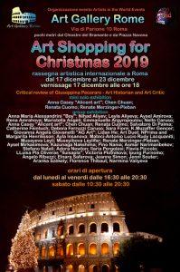 Art Shopping for Christmas 2019 locandina-rrr